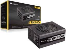 Fonte Corsair Rm1000x 1000w Rmx 80 Plus Gold Full Modular