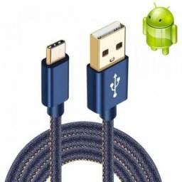 Cabo de Dados USB Tipo C Jeans 2.4A - Kingo