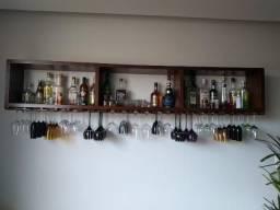 Estante para bebidas