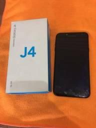 Samsung J4 16gb, muito conservado (parcelo no cartão e aceito troca)