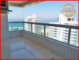 Cobertura com 3 dormitórios à venda, 118 m² por R$ 950.000,00 - Aviação - Praia Grande/SP