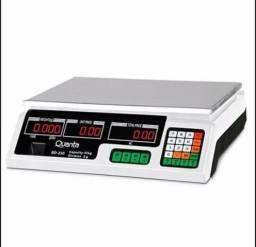 Balança Digital Comercial 40kg Com Bateria Nota fiscal - Garantia