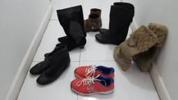 Lote de calçados feminino 33/34 por 50.00