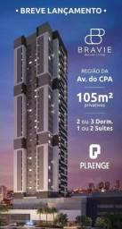 Bravie. Apartamentos Plaenge pré lançamento região Shopping Pantanal