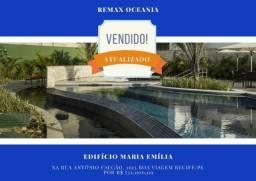 DMR - Ultimas Unidades! Ed. Maria Emilia em Boa Viagem I Planta 81m² | 3 Quartos