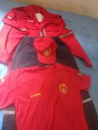 Uniforme bombeiro civil completo