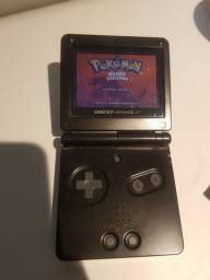 Game Boy Advance Sp + Pokémon Ruby