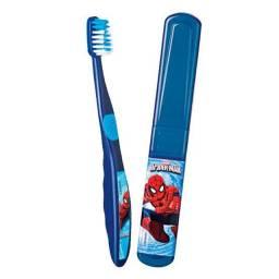 Escova de dentes infantil masculina homem aranha marvel spider man oferta