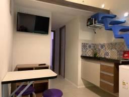 Flat kitnet apartamento completo e mobiliado