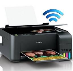 Multifuncional Epson EcoTank L3150 - Wireless - Impressora, Copiadora, Scanner