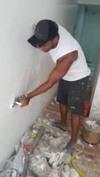 Pintor e pedreiro de qualidade