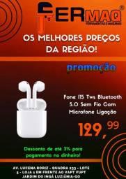 Fone I15 Tws Bluetooth 5.0 Sem Fio Com Microfone Ligação