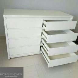 Cômoda Infantil (Modelo L 1.20 M)