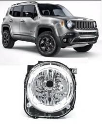 Farol Jeep Renegade 2015 2016 2017 ( Novo )