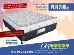 Mega Promocional! cama de casal 7cm conjugada apenas R$299!