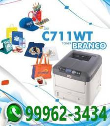 Impressora Oki C711wt com Toner Branco
