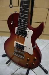 Guitarra Les Paul Cort + Amp de 25W + 3 jogos de cordas
