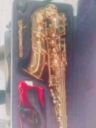 Saxofone (Waldman) semi novo.