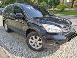 Honda Crv 2011 Lx-at preta(linda!)aut completa+gnv+multimidia+revisada+nova=0km!