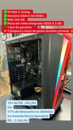 Ryzen 3 3200g / PC Gamer ( LOJA FISICA )