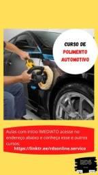 Curso de Polimento Automotivo - 100% Online