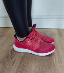Tenis esportivo Rosa adidas