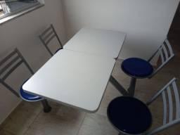Mesa para lanchonete ou uso para refeitório