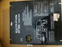 Potência digital 1200wrms com voltimetro embutido