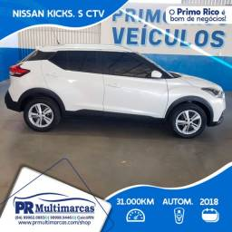 Nissan Kicks 1.6 AT 2018 Unico Dono