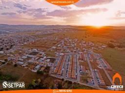 Lotes de 220m² com parcelas de R$ 399,00 liberados para construir