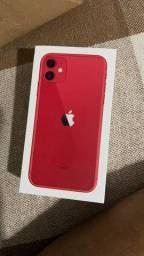 iPhone 11 Red Edition. Na garantia de fábrica .