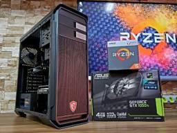Pc Gamer Ryzen 5 2400G Gtx 1050Ti 8Gb Ram 500W 80 Plus