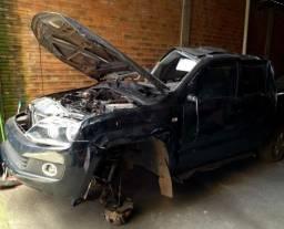 Sucata Volkswagen Amarok 163cv 2014 para retirada de peças