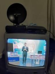 Tv Toshiba 14 pol. + conversor digital