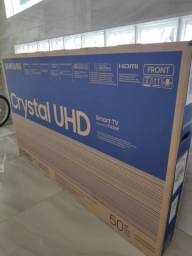 Smart TV Crystal UHD 4K LED 50 Samsung Lacrada