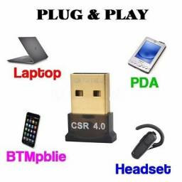 Mini Adaptador Bluetooth 4.0 Lacrado