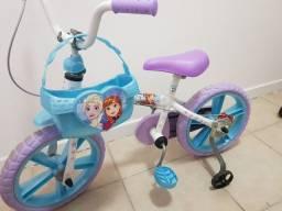 Vendo Bicicleta Bandeirante Frozen Aro 14