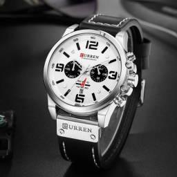 Relógio de Pulso Masculino Curren Marca De Luxo Original Multifuncional.