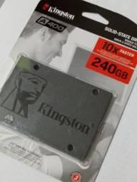 HD Hard disk ssd 240gb Kingston Sata 3 A400 530mb/s - Lacrado