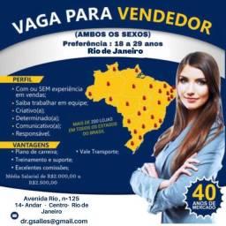 Vagas de vendedor(a) na maior empresa de consorcio do brasil