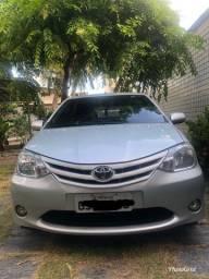 Vendo Etios Sedan 1.5 XL/ 16V-Toyota Hidráulica Flex