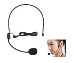 Microfone headset ou bastão sem fio aluguel