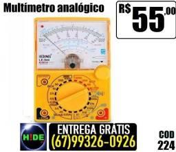 Multimetro analógico (entrega grátis)