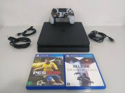 PlayStation 4 Slim - PS4 1TB - ou troco