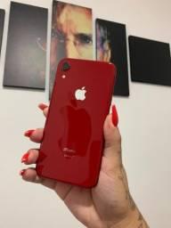 Apple iPhone XR 128GB Red -seminovo- aceito seu iPhone de entrada - Loja Niterói e Rio