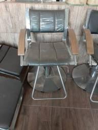 Cadeira de atendimento para salão