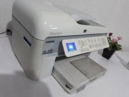 Impressora HP Com Wi Fi Novíssima Photosmart Imprime Em Cd Dvd Multifuncional