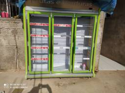 Freezer expositor 3 porta