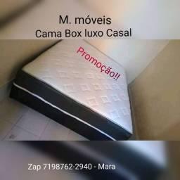 <br>OFERTA! Cama Box LUXO Grátis Frete