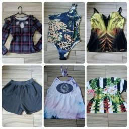 Lote de roupas semi novas!!